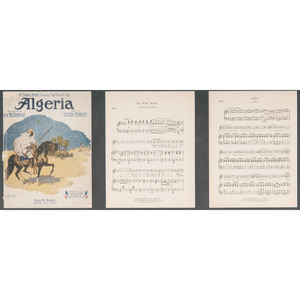 Sheet Music and Signed Theater Bill with Musical Quote, Victor Herbert