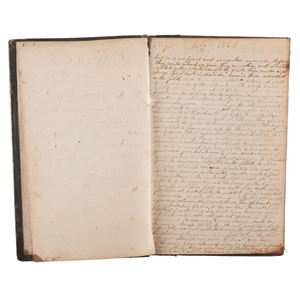 Civil War Diary of Private James L. Lee, 147th Pennsylvania Infantry, Incl. Gettysburg, Missionary Ridge, Ringgold, and More
