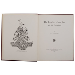 [Genealogy, History] Lawders of the Bass Rare Family History of