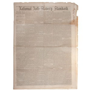 Lincoln's Emancipation Proclamation Printed in National Anti-Slavery Standard
