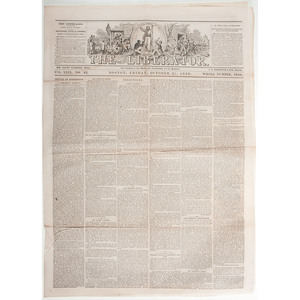 John Brown's Raid, Trial, and Hanging Reported in The Liberator