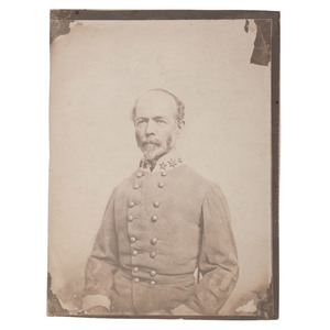 CSA General Joseph E. Johnston, Salted Paper Photograph by Vannerson & Jones