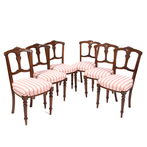 English Upholstered Dining Chairs