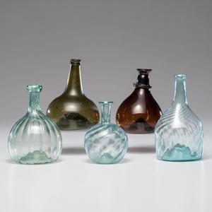 Early Blown Glass Bottles, Plus