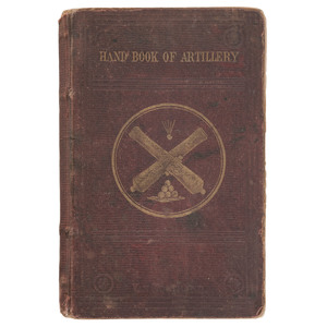 Rhode Island 3rd Heavy Artillery Hand Book Signed by 1st Lieutenant D.R. Irwin