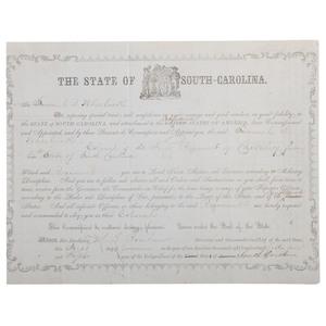Jocular South Carolina Commission Lambasting the Confederacy