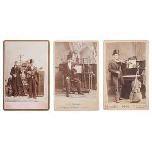 "Five Cabinet Cards Featuring ""Ontario's Musical Wonder,"" Professor McRae"