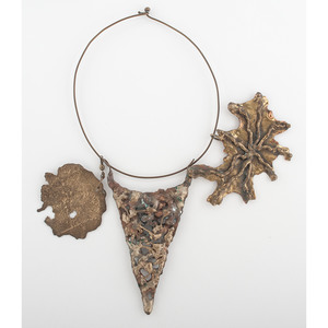 January Marx Knoop Art Necklace