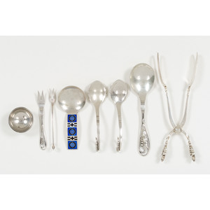 Georg Jensen Sterling Specialty Flatware, Plus