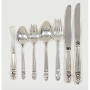 Royal Danish Sterling Flatware Service