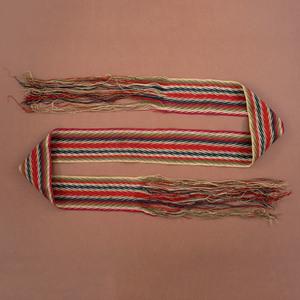 Metis Fingerwoven Wool Sash