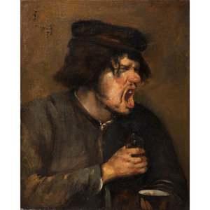 Frank Duveneck (American, 1848-1919)