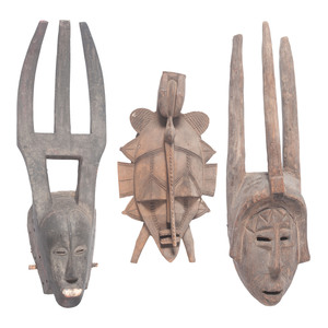 African Baule, Senufo, and Bambara Masks, Sold to benefit the Acquisitions Fund of the Berea College Art Collection