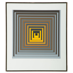 Victor Vasarely (French-Hungarian, 1906-1997)