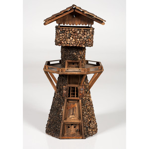 Folk Art Watch Tower