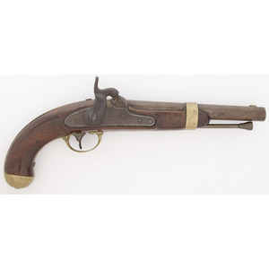 Aston U.S.  Model 1842 Percussion Pistol
