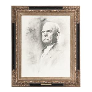 Wyatt Earp, Graphite Portrait by Don Crowley