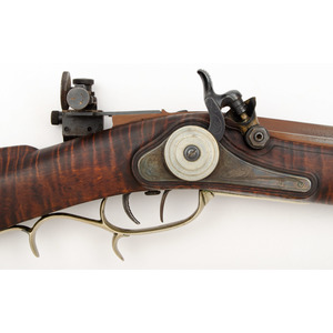 Half Stock Plains Rifle, with Dave Taylor Barrel