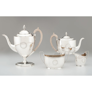George III Sterling Coffee and Tea Service