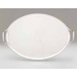 George III Sterling Service Tray