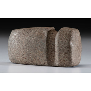 A Green Granite 3/4 Grooved Axe, 6-1/4 in.