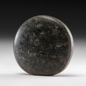A Polished Granite Discoidal, 4-3/4 in.
