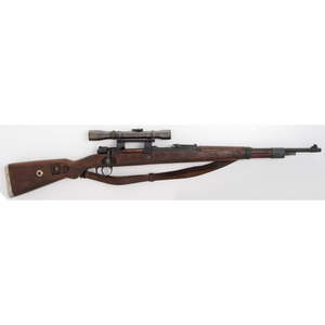 ** German Mauser 98k Rifle with Gerard Scope