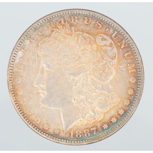 United States Morgan Silver Dollar 1887