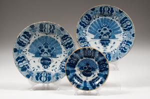 Delft Tin-Glazed Earthenware Plates