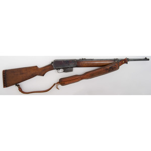 **Winchester Model 1907 Rifle