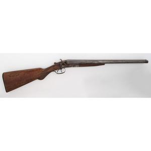 Spencer Gun Co. Double Barrel Hammer Shotgun