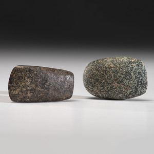 Two Granite Celts, 4 in.