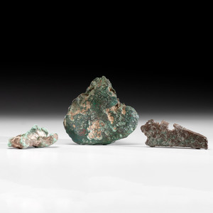 Three Copper Nuggets, Longest 6-1/4 in.