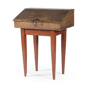 Writing Desk with Married Base