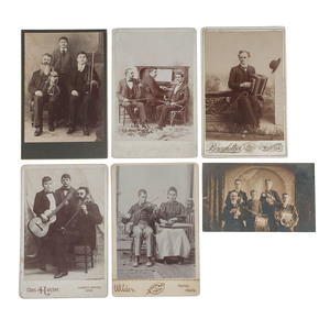 CDV and Cabinet Cards of Blind Musicians and Bands