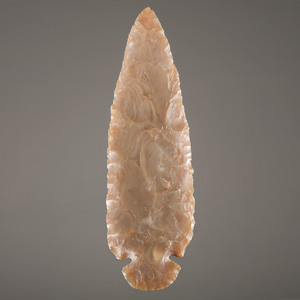 Carter Cave Flint Dove Tail Blade,  From the Collection of Jan Sorgenfrei, Ohio