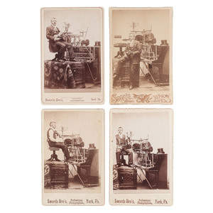 Cabinet Cards Featuring