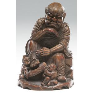 Chinese Bamboo Immortal Figure