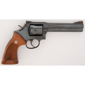 * Smith and Wesson Model 586 Revolver