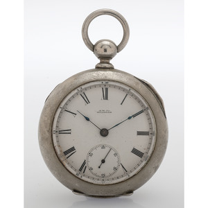 Waltham Silveroid Open Face Pocket Watch Circa 1901