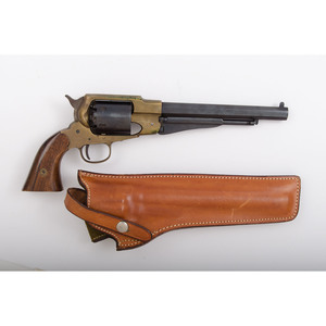 Reproduction Brass Frame Remington Army Revolver