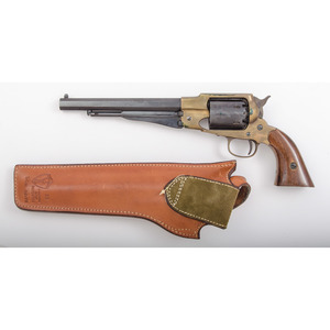 Reproduction Brass Frame Remington Army Revolver