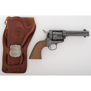 US Artillery Colt Single Action Army Revolver with Holster