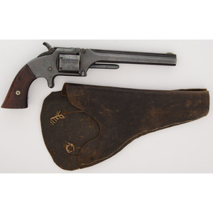 Smith and Wesson No. 2 Army Revolver with Holster