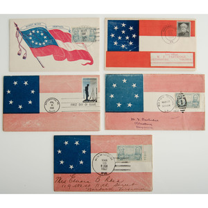 Group of Commemorative Confederate Envelopes