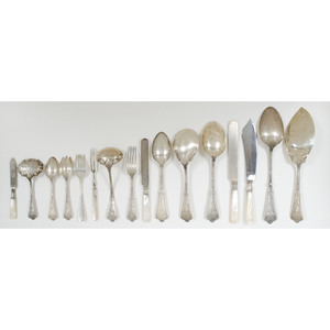 Tiffany & Co. Sterling Flatware, Persian Pattern, Plus