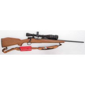 * Winchester Model 70 Rifle with Leupold Scope