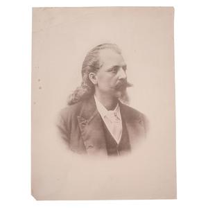 Buffalo Bill Cody Portrait by Harry Tuite, Ca 1880s