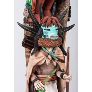 Wilmer Kaye (Hopi, b. 1952) Katsina Sculpture, From the Collection of William H. Saunders, M.D. and Putzi Saunders, Ohio