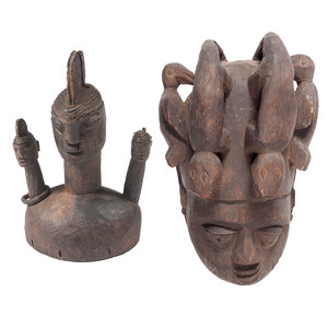 Yoruba Helmet Mask, PLUS, Sold to benefit the Acquisitions Fund of the Berea College Art College